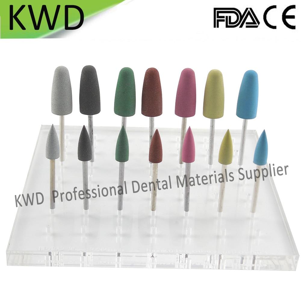 100 piunids/lote herramientas de suministros dentales pulidores de silicona baratos 2,35mm taladros de pulido Universal para dentadura de porcelana-in Blanqueamiento dental from Belleza y salud    3