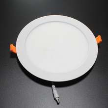 18W LED Round Recessed Ceiling Flat Panel Down Light Ultra slim Lamp Warm White 3500K Super Bright [Energy Class A+]