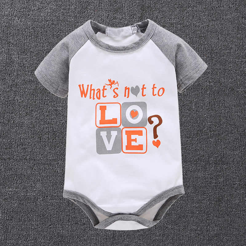 New Body Baby Boy Bodysuits Newborn Baby Clothes Tiny Cotton Short Sleeve Baby Boy Jumpsuits Baby Twins Clothes