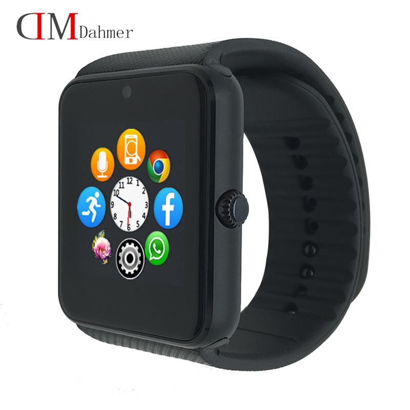 Original New Smart Watch GT08 Clock Sync Notifier Support Sim Card Bluetooth for Apple iphone Android
