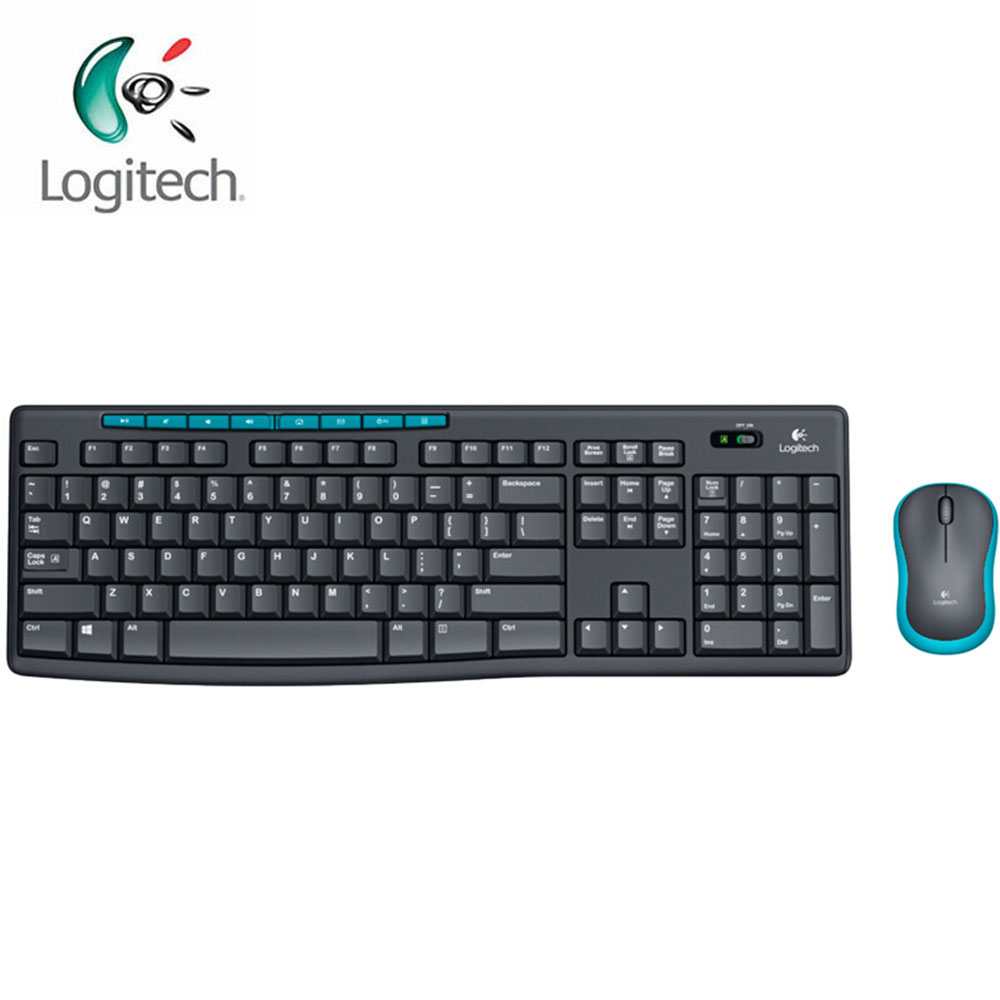 Logitech MK275 Wireless Optical Gaming Mouse Saving Power Waterproof Ergonomic Notebook Keyboard Combo Set  with Mini Receiver logitech g403 prodigy wireless gaming mouse with high performance gaming sensor