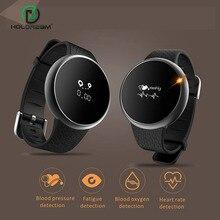 Smart Watch Браслет Группа Артериального Давления Монитор Сердечного ритма Шагомер Bluetooth Водонепроницаемый Smartwatch Фитнес-Трекер Для Телефона