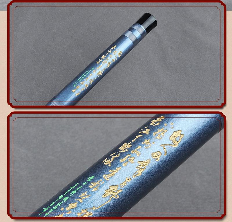 Китайская традиционная бамбуковая двухсекционная синяя флейта под названием Dizi Традиционный Бамбук Flauta для начинающих и любителей музыки