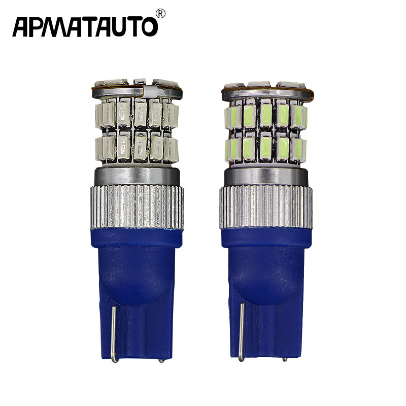 2pcs T10 W5W Canbus 168 194 <font><b>LED</b></font> Clearance Parking <font><b>Lights</b></font> <font><b>Bulbs</b></font> For <font><b>Mazda</b></font> 2 3 5 <font><b>6</b></font> 8 CX 5 CX-5 CX-7 CX-9 MX-5 M3 M6 ATENZA Axela image