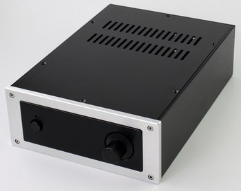 WA49 Full Aluminum Digital Amplifier DAC Decoder Chassis / AMP Shell / Case / DIY Box (218 * 92 * 308mm)