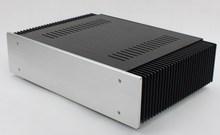Kyyslb diy 앰프 케이스 wa61 전체 알루미늄 홈 앰프 섀시 클래스 a 앰프 amp 인클로저 케이스 diy 박스