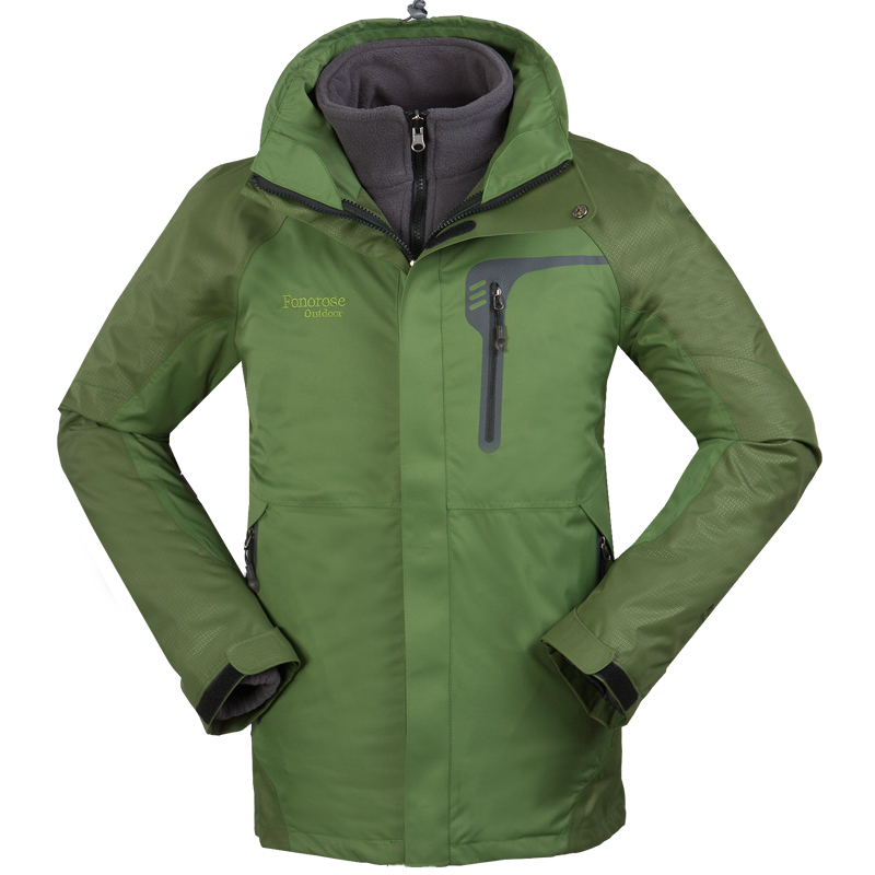 купить 4colors Outdoor Jacket Waterproof Men Chaqueta Fleece Jackets 3In1 Jacket Men Ropa Senderismo Hombre Veste Ski Homme winter по цене 6308.81 рублей