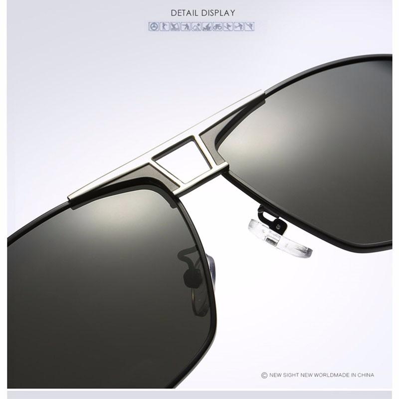 Roupai Polarized Super Cool Military Glasses For Police Driving Mens Square Anti Glare Sunglasses UV400 377 (15)
