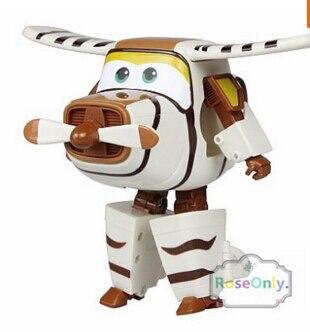 Trasformare robottino Animation Toy Jerome Jerome Super Wings ali Super