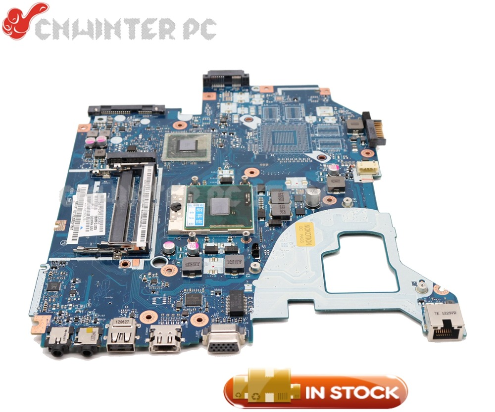 NOKOTION Laptop Motherboard For Acer aspire V3-571 E1-571G Main Board Q5WV1 LA-7912P NBC1F11001 HM70 DDR3 Free CPU