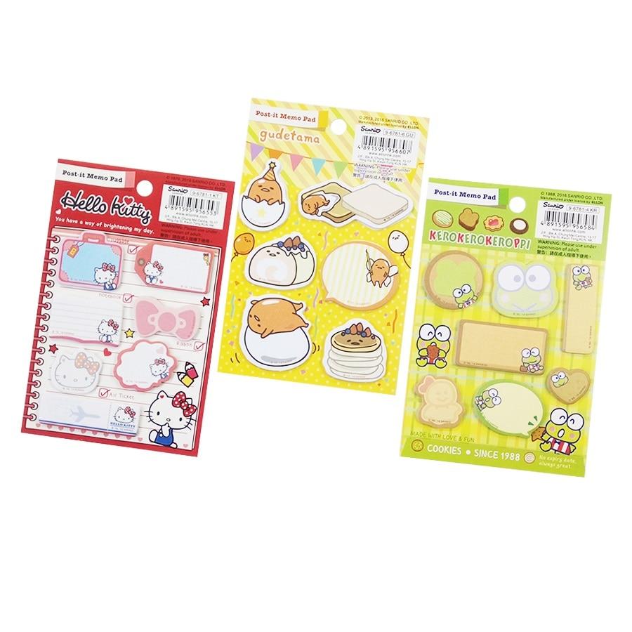 1 paquete / lote de dibujos animados Stationery Frog Egg Cat Series - Blocs de notas y cuadernos