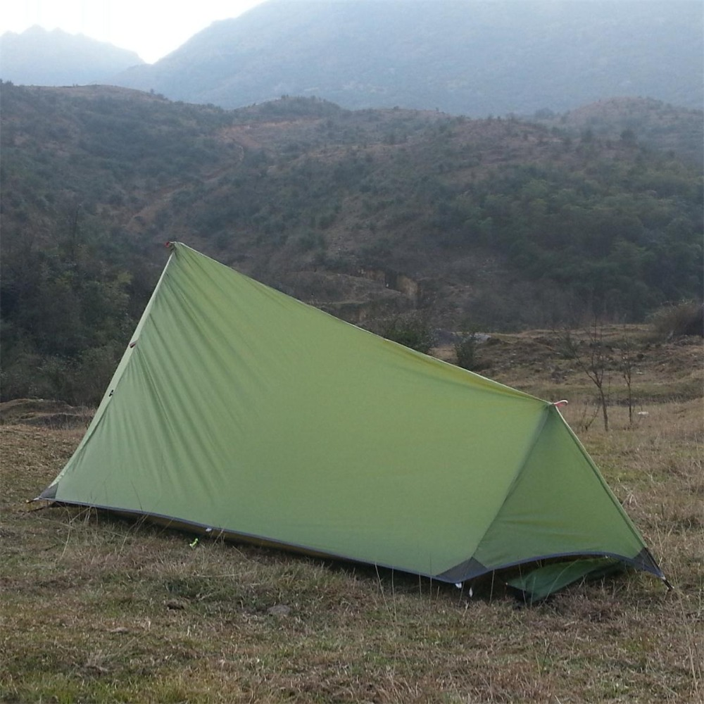 Axeman Ultralight Double Layer 1 2 Person Potable Waterproof Tent Shelter Hunting u0026 Fishing C&ing Tent Outdoor Bivvy Barraca-in Tents from Sports ... : 1 2 person tent - memphite.com