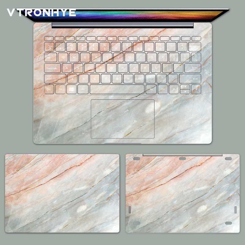 PVC Stickers for Xiaomi Mi AIR 12.5 13.3 Inch Shell Skin Marble Printed