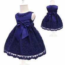 Baby Girls Dress For Party Princess Dresses Infant Christening Gown 1 Year Birthday Dress Christmas Baby Girls Clothing 4ds100