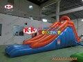 Маленькие дети Крытый открытый горка Одиночная горка комбинация надувные спортивные игры надувные горки