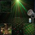 R & G Открытый Водонепроницаемый Пульт Дистанционного Полный Звезды Лазерный Проектор в Помещении Дома Отдыха Xmas Tree Стены Освещения Сада Ландшафтный Свет T79