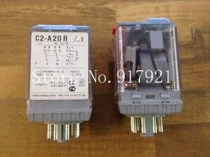 [ZOB] RELECO MR-C C2-A-20R 220V in Spain ekko relay genuine original 8 feet --5pcs/lot(China)