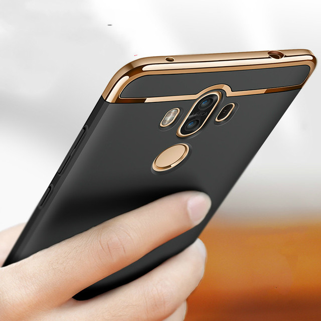 Mate 10 shockproof case For Huawei mate 10 Lite Pro back cover hard protect luxury Slim Matte full protection cases capas fundas