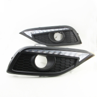 2PCS High Quality LED Daytime Running Turn Singal Lights DRL For Honda CR V CRV 2012