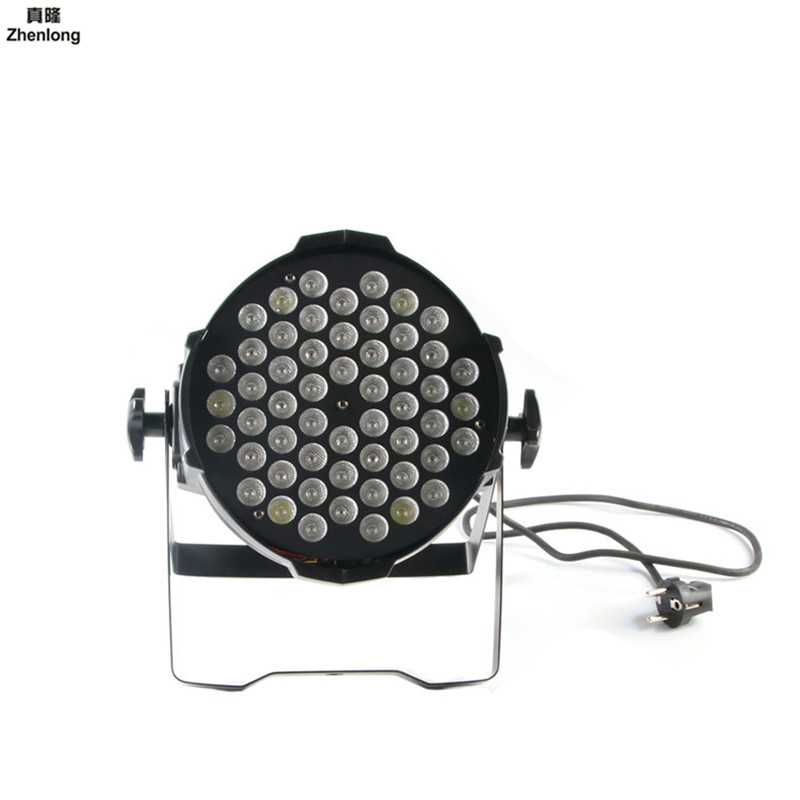 Lumière de pair de lumière d'étape du pair 54 LED de LED avec DMX512 pour l'exposition de voiture