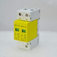 1P+N 10KA~20KA D ~420VAC Arrester Device SPD House Surge Protector device Protective Low voltage