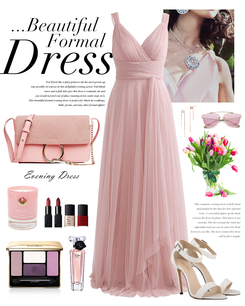 Blush Pink Bridesmaid Dresses Ever Pretty EP07303 Sweetheart A-line - Suknelės vestuvėms - Nuotrauka 5