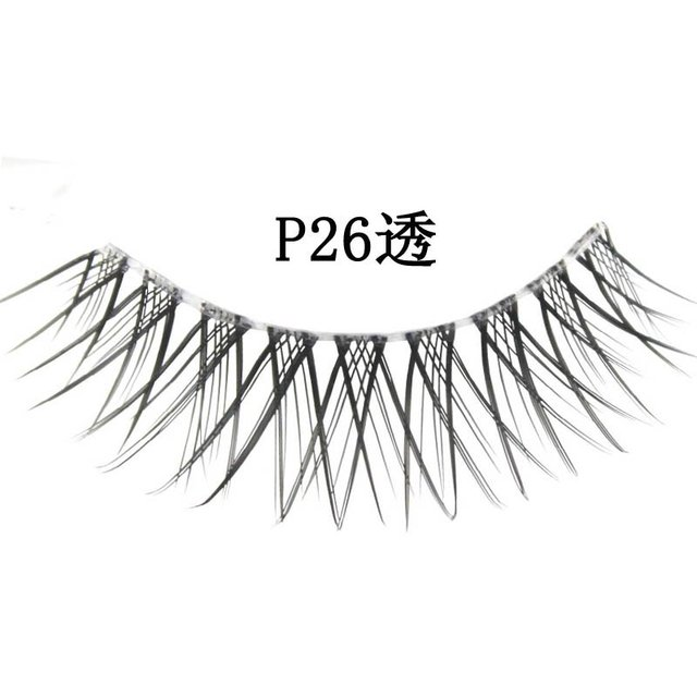 Free shipping,32box/lot [mixed style] high quality factory direct marketing,hand made (10 pairs/box)quality eyelashes (P26A)