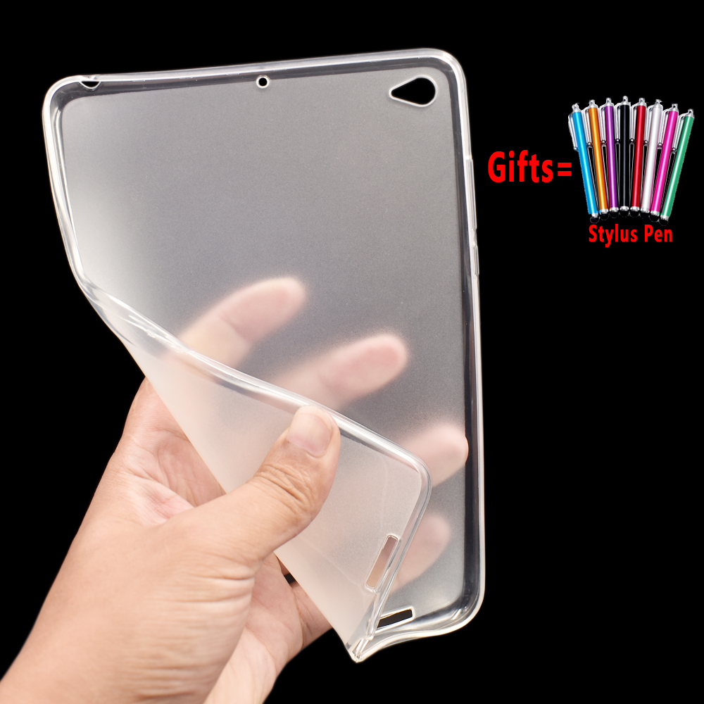 Shockproof Drop Resistance Tablet Silicon Sosft Back Case For Xiaomi Mi Pad 2 3 Mipad 2 3 Case Cover Funda Coque Capa Shell +Pen