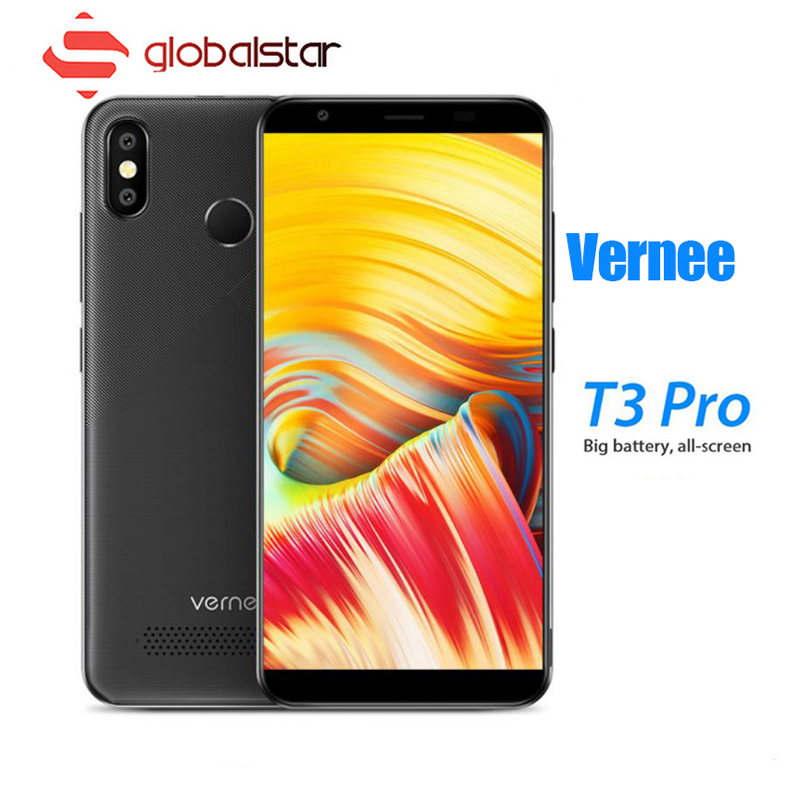 Vernee T3 Pro 5,5 ''Full Screen Smartphone 3 GB RAM 16 GB ROM Handy Android 8.1 MTK6739 Quad- core 4080 mAh 4G LTE Handys