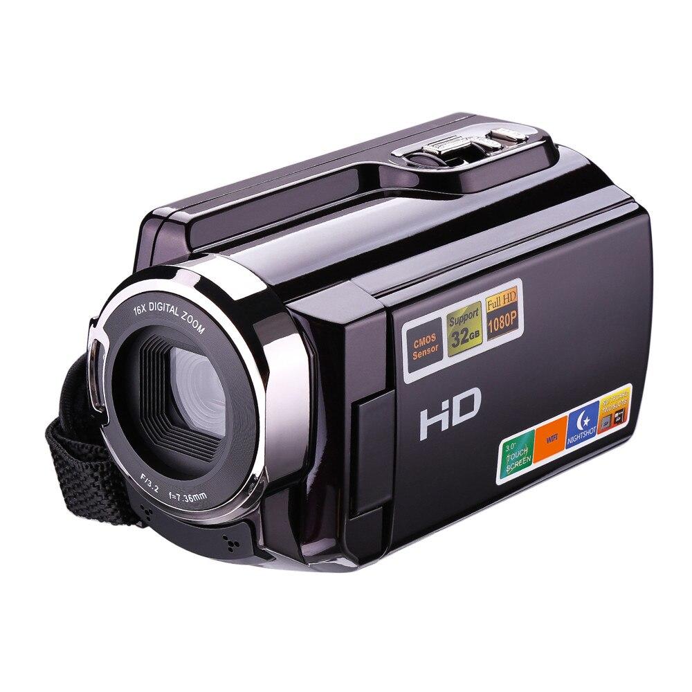 2017 bonne vente caméscope 1080 P FHD Vision nocturne WIFI caméra vidéo numérique HDMI et écran tactile J8