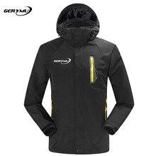 2016 Men Winter 2-1 Outdoor Soft Shell Snowboard Jacket Hunting Hiking Climbing Camping Sports Waterproof Windbreaker