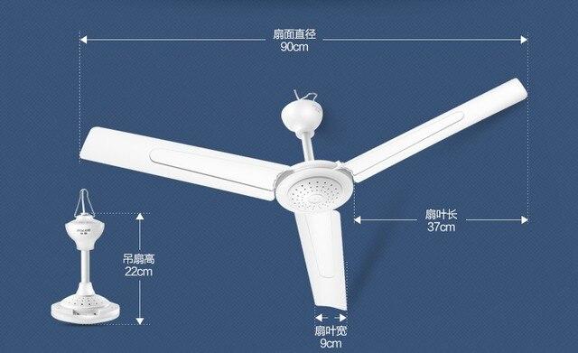 Dani zhang fd10 90 900mm white 220v 20w ceiling fan electric fan dani zhang fd10 90 900mm white 220v 20w ceiling fan electric fan single gear aloadofball Image collections