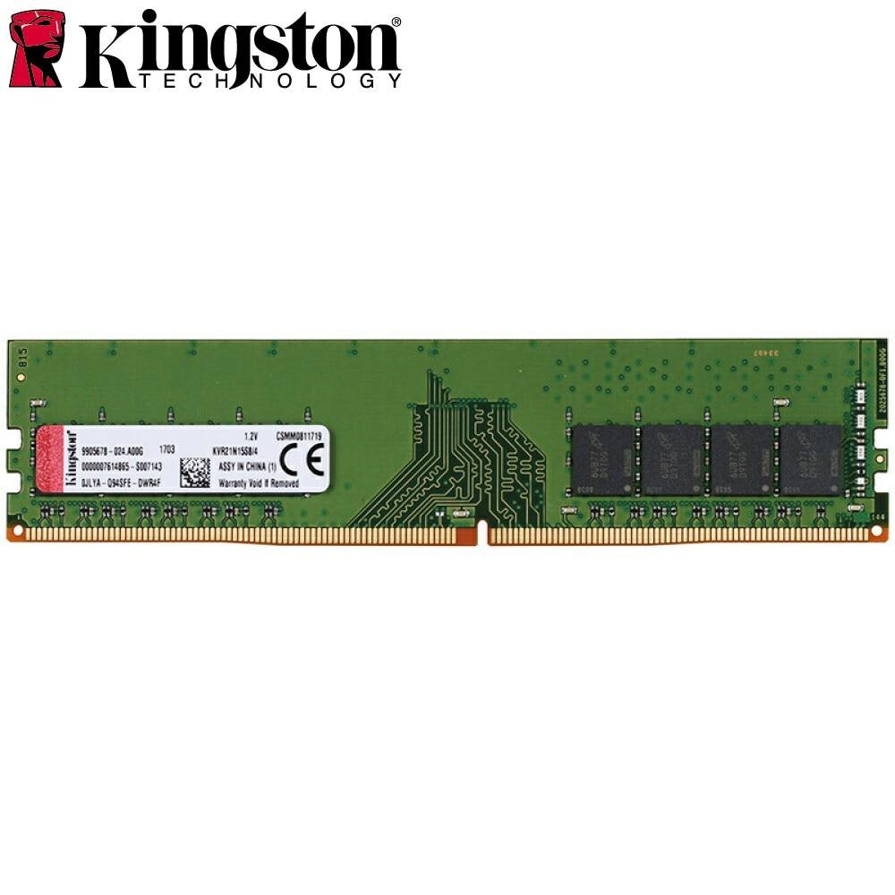 Фото Kingston Desktop PC Memory RAM Memoria Module DDR4 2133MHz D4 4GB 8GB 16GB 2133 CL15 1.2V 1Rx8 288-Pin Memory Stick PC4-2133