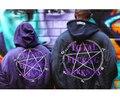 VETEMENTS OVERSIZE pentagram magic circle MA1 chaqueta de vuelo con los hombres y las mujeres chaqueta de abrigo en invierno