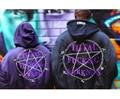 VETEMENTS OVERSIZE pentagram magic circle MA1 flight jacket coat with men and women jacket coat in winter