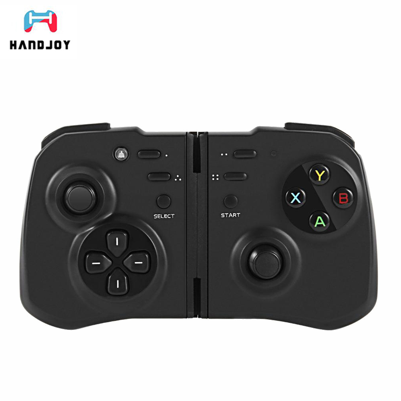HandJoy nPro Wireless Gamepad Game Controller Bluetooth 4.0 Joystick for Android/ IOS Smartphone/PC Pad Tablet TV Box VR Gamepad
