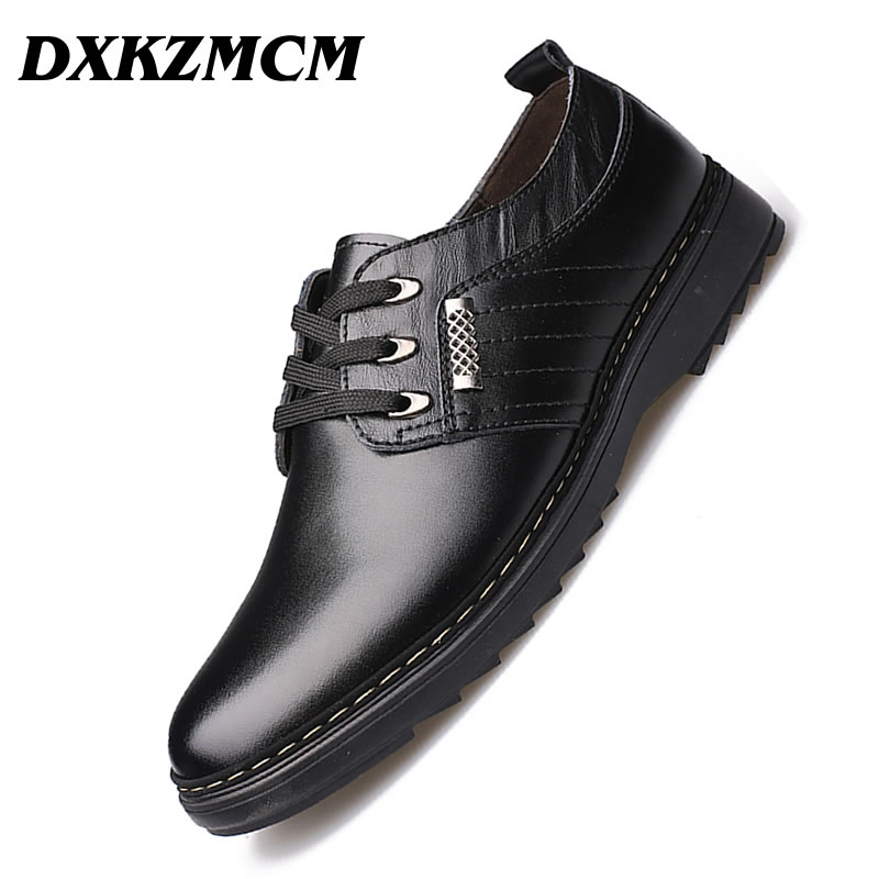 DXKZMCM Handmade Men Dress Shoes, Business Brand Leather Men Shoes, Casual Design Men Flats, Men Oxfords one piece model fighting edition monkey d luffy sanji ace trafalgar law dracula mihawk