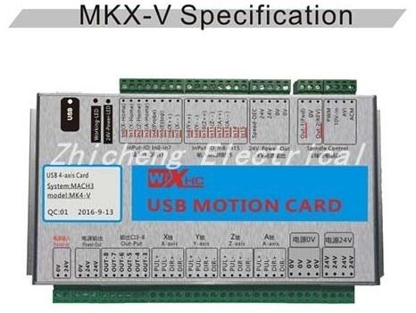 6 Axis Mach3 Ethernet Breakout Board New XHC Ethernet Motion Control Card Mach3 controller 2000KHZ xhc mk4 mach3 breakout board 6 axis usb motion control card 2mhz support windows 7 10