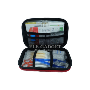 Image 3 - 17 Items/93pcs Portable Travel First Aid Kits For Home Outdoor Sports Emergency Kit Emergency Medical EVA Bag Emergency Blanket
