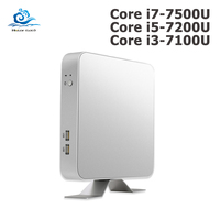 Mini PC 7th Gen Core i7 7500U i5 7200U i3 7100U Windows 10 4K Computer HD Graphics 620 HDMI WIFI USB3.0 Desktop gaming pc