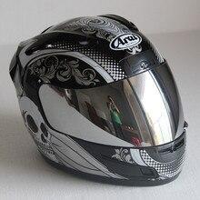 Full face ARAI Racing Motorcycle Motocross safety helmet ECE Certification man w