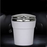 Car Styling Car Cigarette Ashtray With LED Lamp For Lexus ES250 RX350 330 ES240 GS460 CT200H