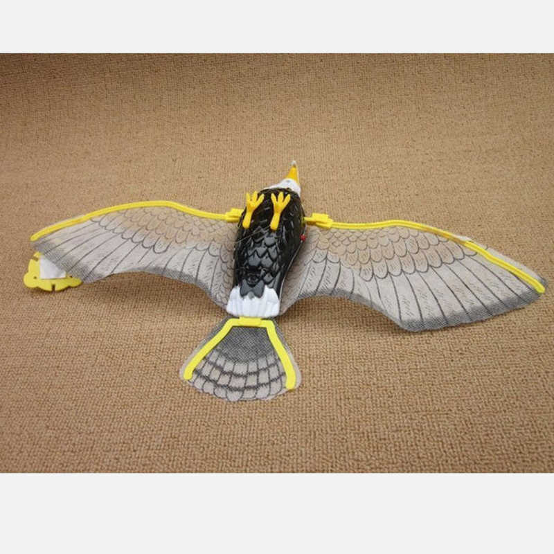 1pc Hot Sale Creative Electronic Eagle Sling Hovering Hawk Birds Toy with Flashing Sounding Electrical Pet q50