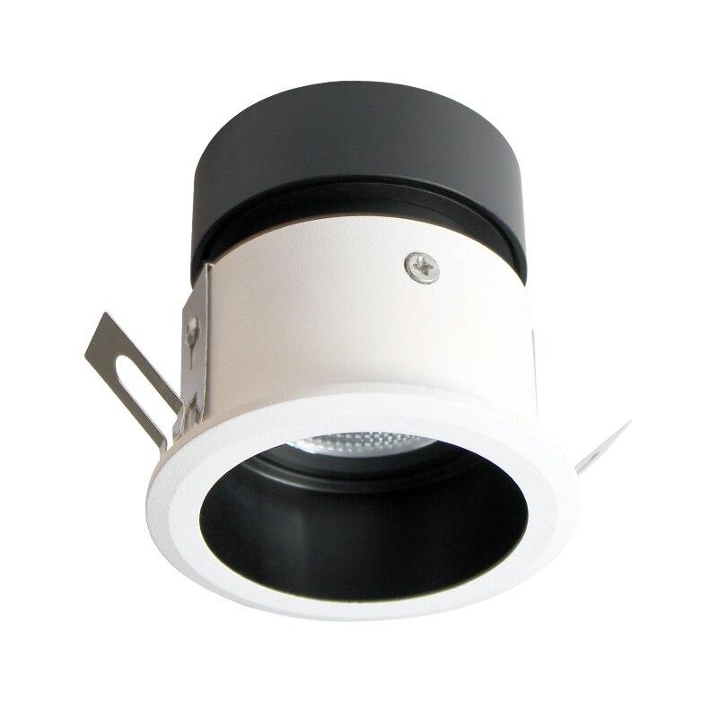 Aisilan encastré LED nordique étanche Downlight Angle réglable intégré LED Spot lumière AC90-260V 5 W pour l'éclairage intérieur - 6