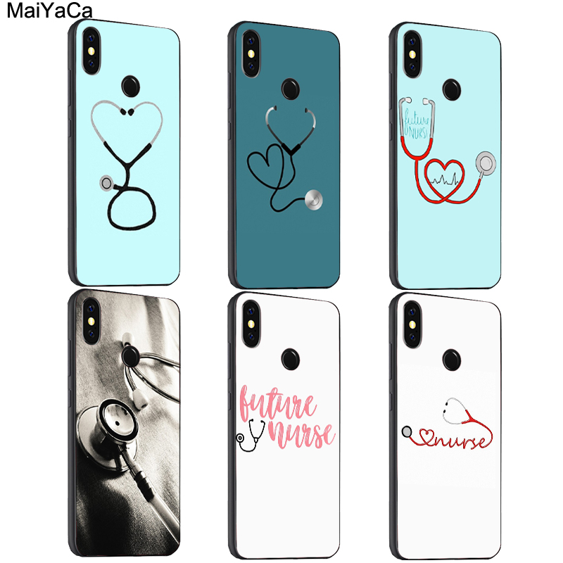 Maiyaca Doctor Nurse Heart Stethoscope Tpu Case For Xiaomi Redmi S2 6 6a 6pro 4x Note 5 Pro 5a 7 Mi 8 9 6x A2 Mix 2s Max 2 3 F1 Keep You Fit All The Time Phone Bags & Cases Cellphones & Telecommunications