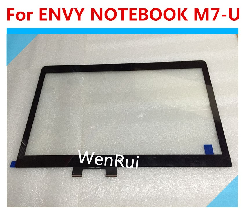 For HP ENVY NOTEBOOK M7 U109DX Touch Screen Glass W Digitizer Assembly Black Cable