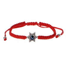 Lucky Kabbalah Red Strings Thread Fatima Hamsa Bracelets Blue Turkish Evil Eye Charm Handmade Women Friendship Jewelry(China)