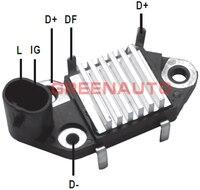 14 V 65A Alternador Novo Regulador De Tensão de 271710 Para A GM V8 Para DAEWOO Mercury Marine