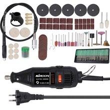 180W Electric Grinding Drill Tool Set Mini Rotary Grinder Versatile Cutting Polishing Sanding Machine Bits Engrave Tools Kit