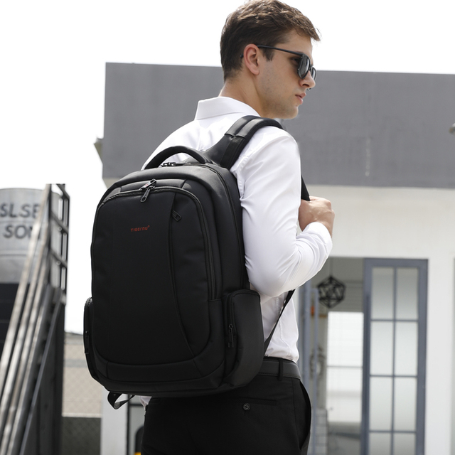 Tigernu 15.6inch Mini Anti theft Laptop Backpack Male Waterproof  Men's Backpacks Bag Women's Casual School Backpacks for teens 5